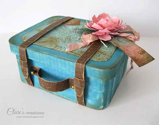 ... Vintage Suitcase Gift Box. Tuesday June 11 2013 & Coreu0027dinations Cardstock - Vintage Suitcase Gift Box | Clareu0027s ... Aboutintivar.Com