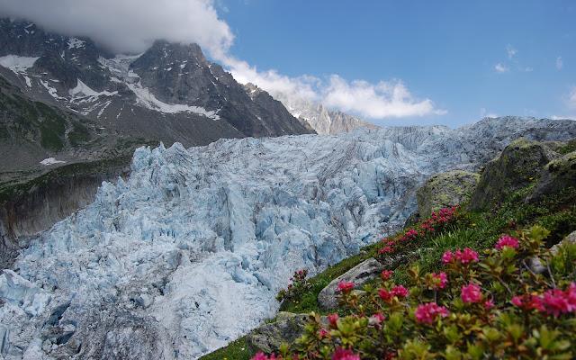 Los Alpes Paisajes de Montañas