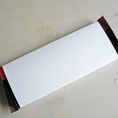 blank chocolate bar wrappers - photo #18