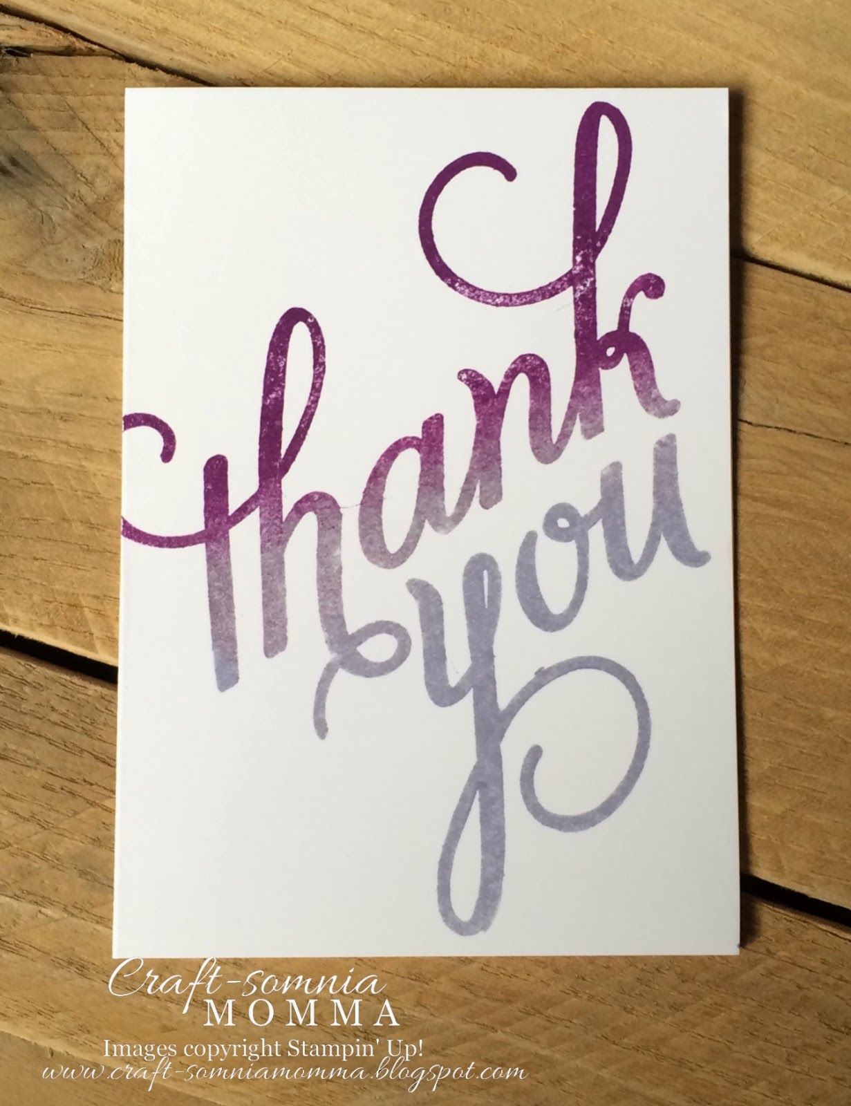 Craft somnia momma simple single layer thank you for Simple single