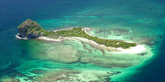 Private island for sale, the Grenadines