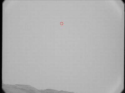 Mars from Curiosity