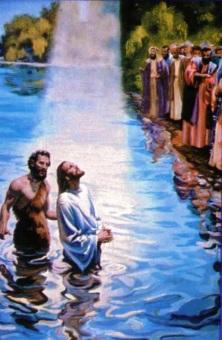 Bautizo de Jesús o Jesucristo