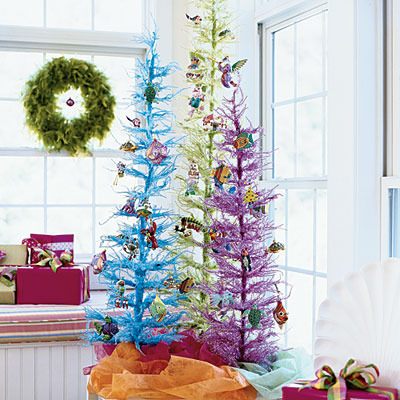 Interiors in love christmas tree inspirations for Unusual artificial christmas trees