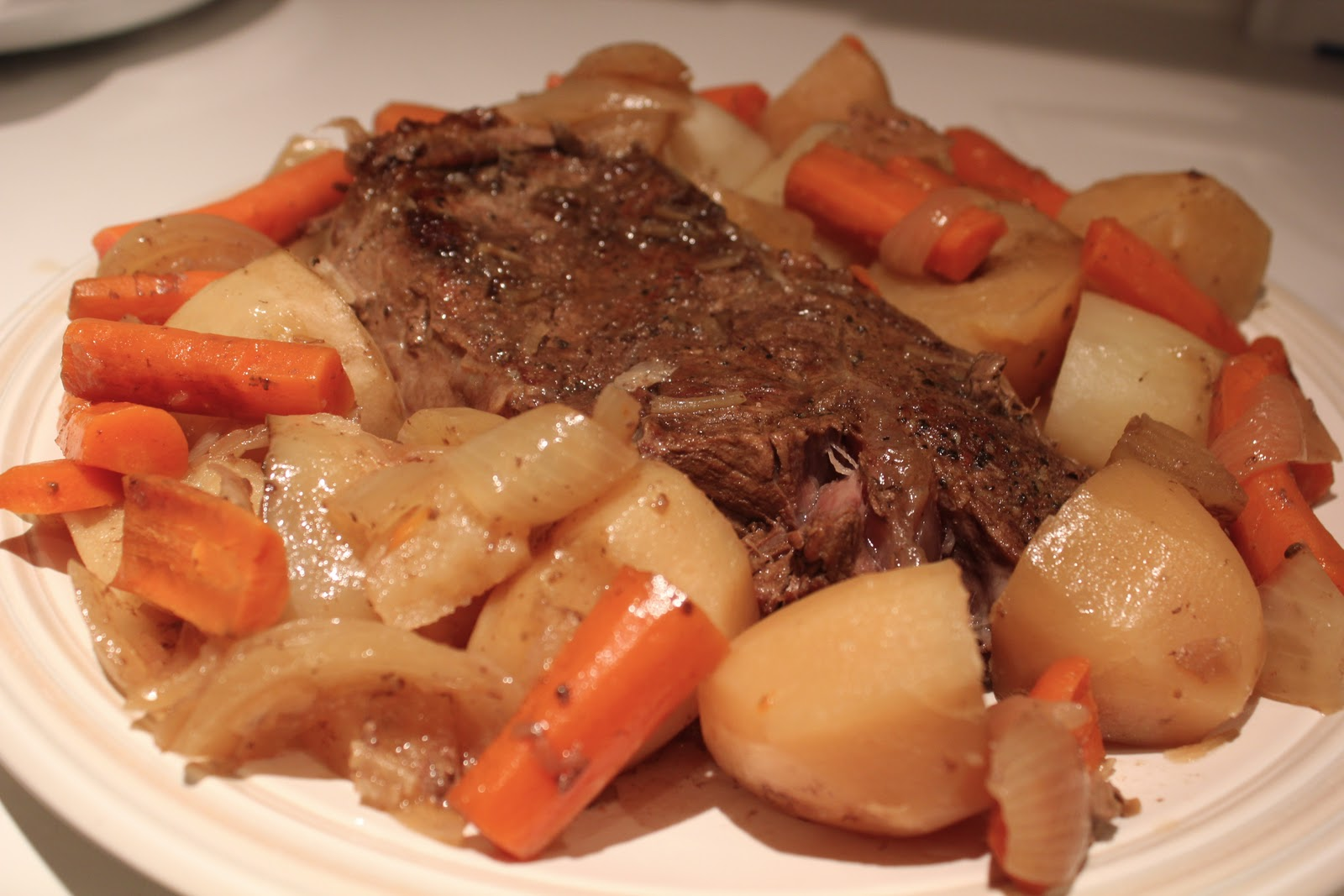 Near to Nothing: Beef Pot Roast with Gravy
