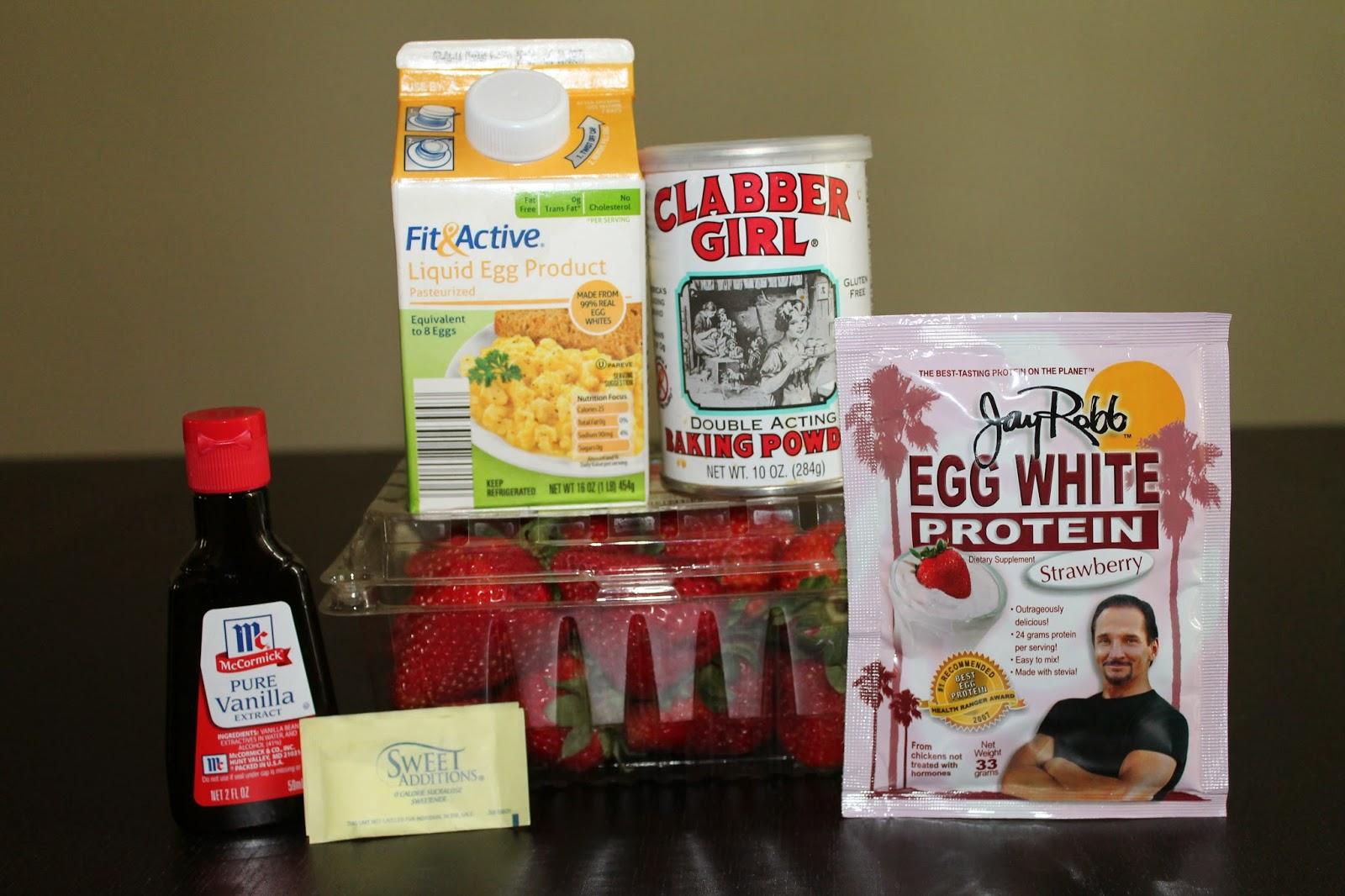 Strawberry Protein Powder Strawberry or Vanilla Protein