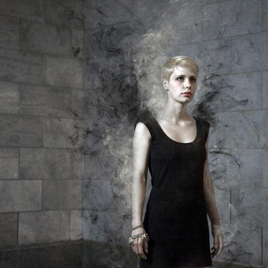 Ulric Collette fotografia surreal photoshop Preto e branco