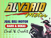 Spanduk Alvario Motor