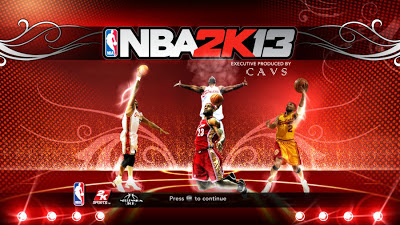 NBA 2K13 Cavs 2009-2010 Roster Splash Screen