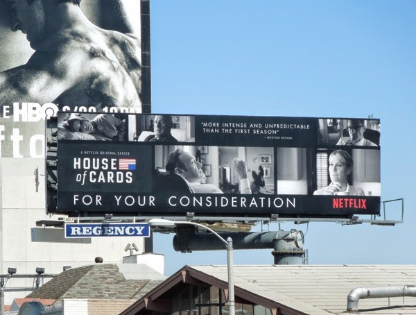 House of Cards Emmy Consideration 2014 billboard