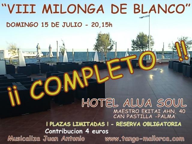 MILONGA DE BLANCO- COMPLETO