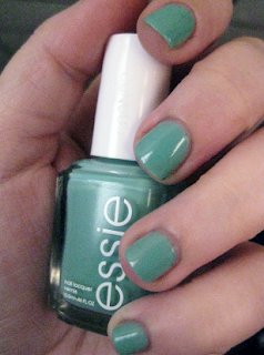 essie turquoise and caicos nail polish swatch review