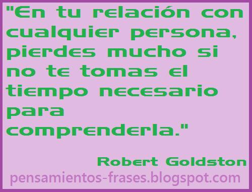 frases de Robert Goldston