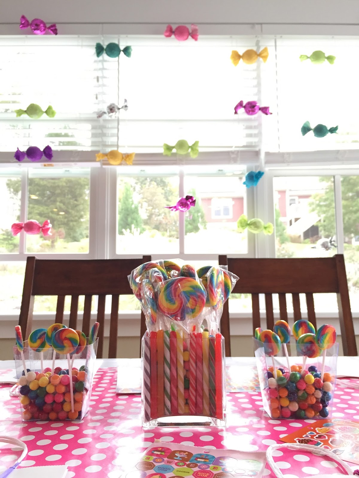 Live laugh and learn a sweet shop birthday party i already had a few glass vases but i purchased most of the other containers from oriental trading you can find the ones i purchased here reviewsmspy
