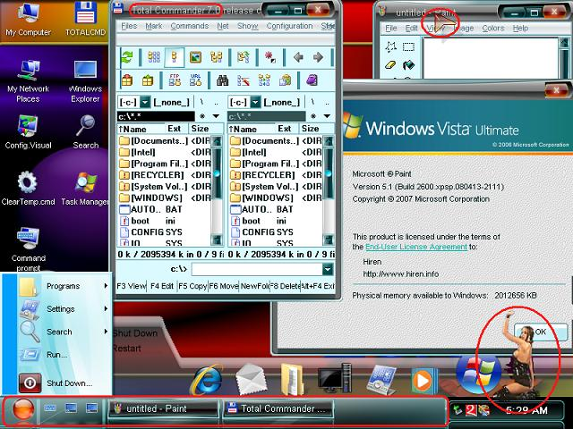 windows xp mini os