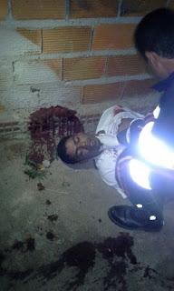 Homem é vitima de homicídio em OLHO D'ÁGUA DO CASADO