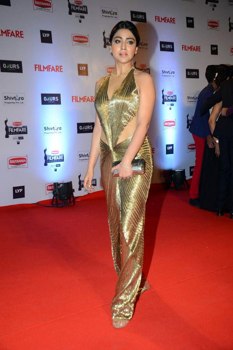 Shriya Saran Latest Photos at Filmfare Awards 2016