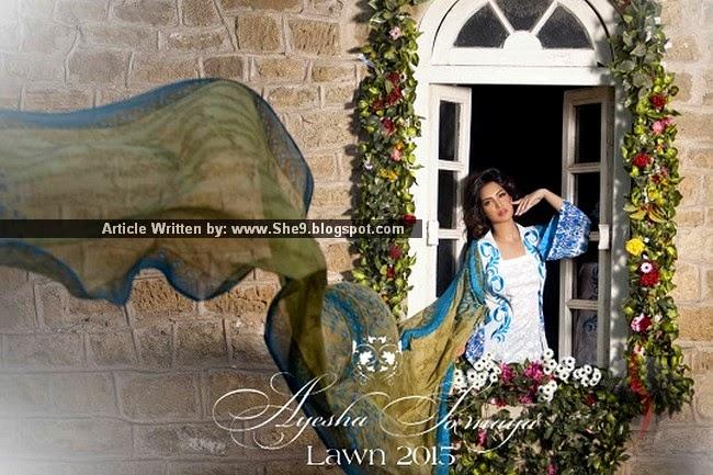 Ayesha Somaya's Summer Lawn 2015 Volume-1