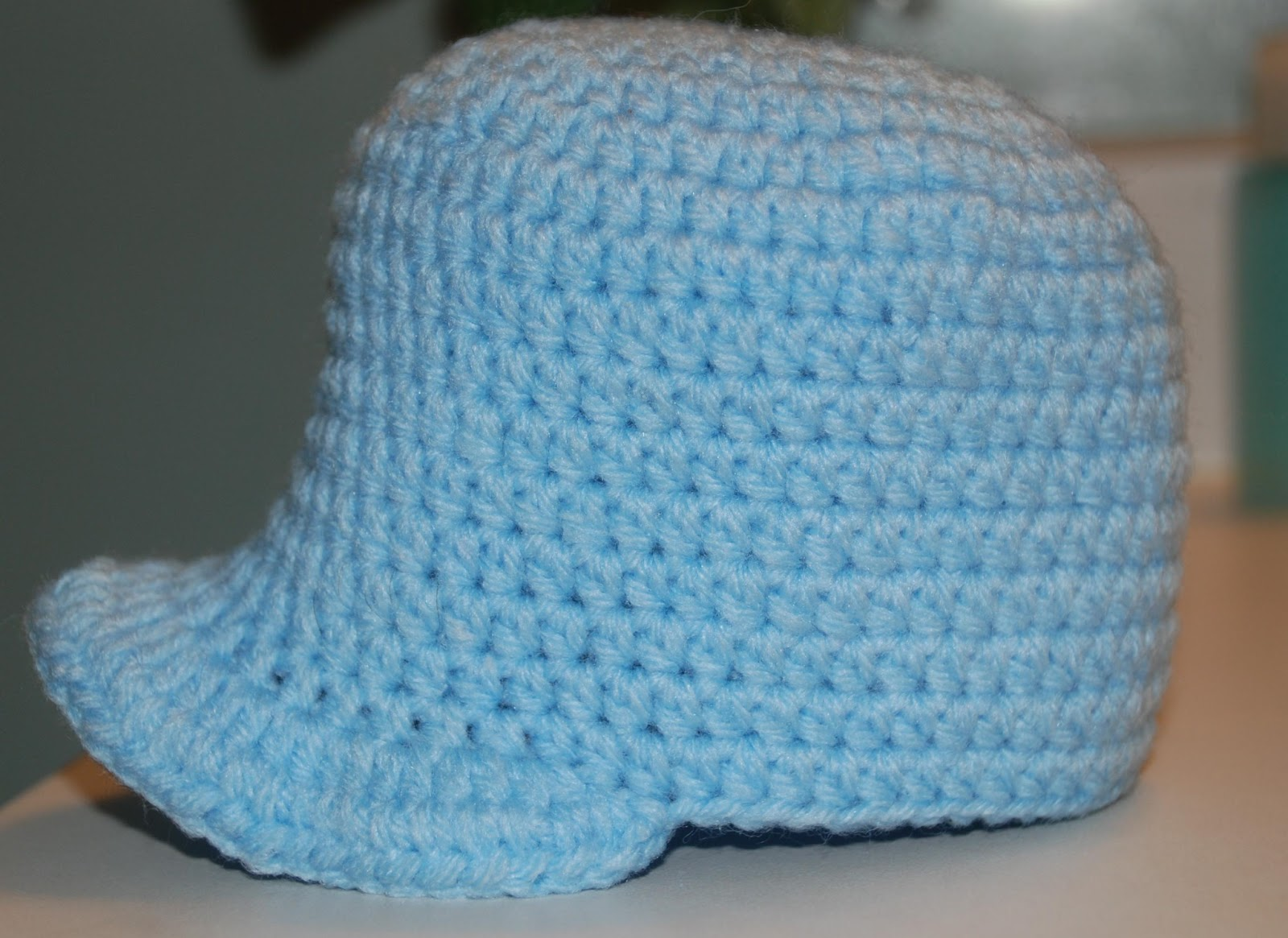 Amys Crochet Creative Creations: Crochet Newborn Baseball Cap