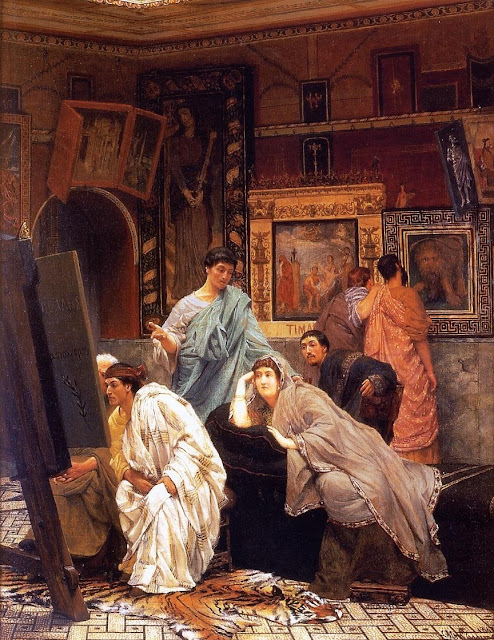 lawrence alma tadema,5 stars,Roman painting