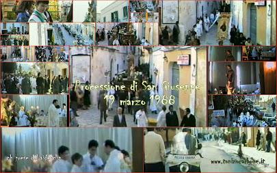 """come eravamo... """"processione di San Giuseppe 19 marzo 1988"""" ...il video"""