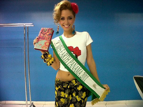 Marelissa Him Betancourt,miss earth panama 2011