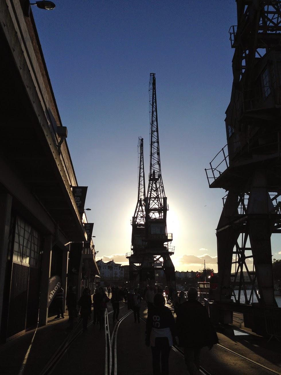 Cranes, Bristol Docks