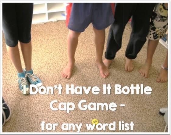 Bottle Cap Game Freebie