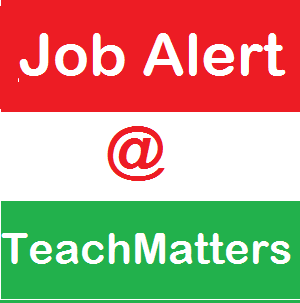 Job Alert at TeachMatters.photo