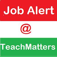 image: Job Alert @ TeachMatters