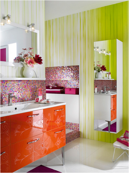 Room design ideas teen girls bathroom ideas for Girls bathroom ideas