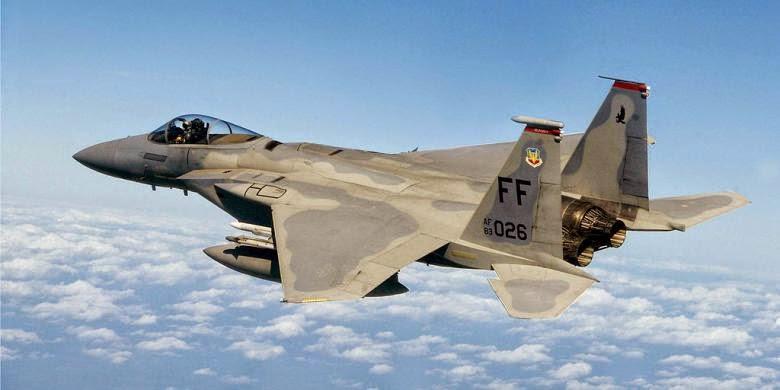 Pesawat pejuang F 15 Amerika Syarikat terhempas di hutan Virginia