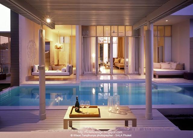 Les Plus Beaux Hotels Design Du Monde Sala Phuket Resort