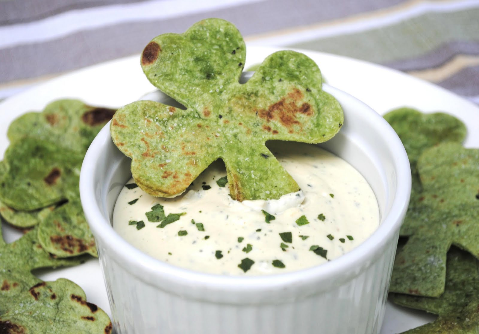 Krisztina Williams: Shamrock-Shaped Party Food for St. Patrick's Day