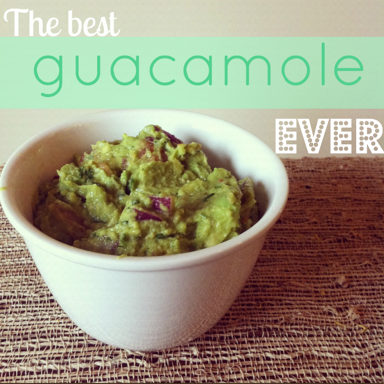 Life More Lovely: The best guacamole ever