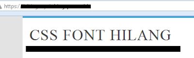 tampilan HTTPS yang erro