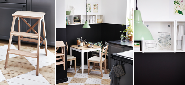 Cocinas kitchen decorar tu casa es for Cocina negra ikea