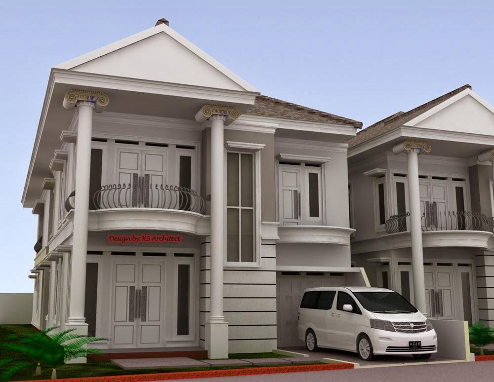 ciri khas model rumah klasik modern