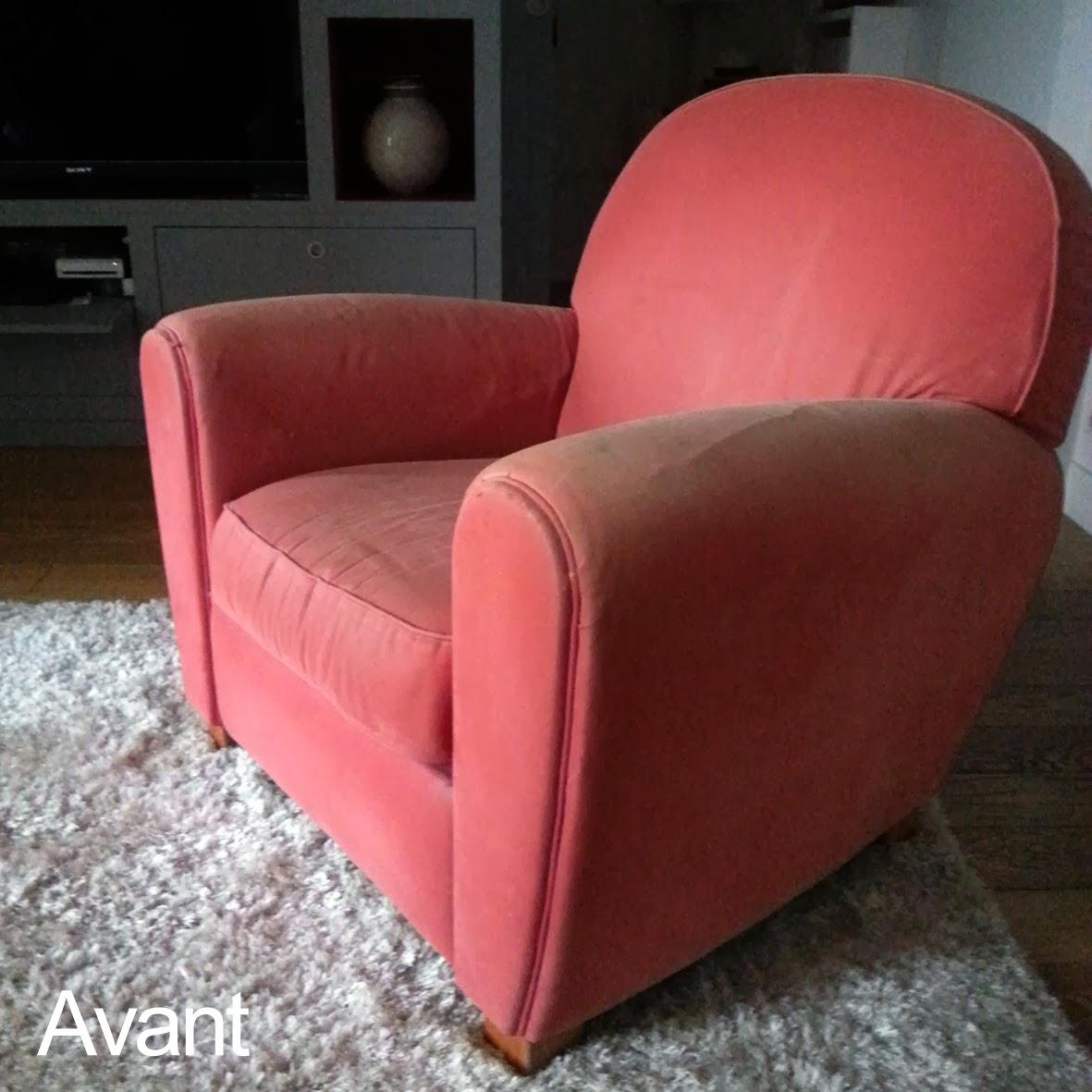 Avant Apr¨s Fauteuil Club Atelier Velvet