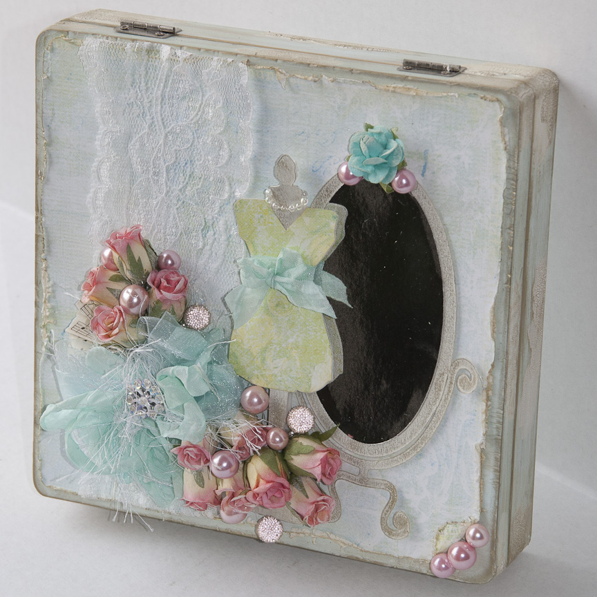 flamingo scraps altered cigar boxes. Black Bedroom Furniture Sets. Home Design Ideas