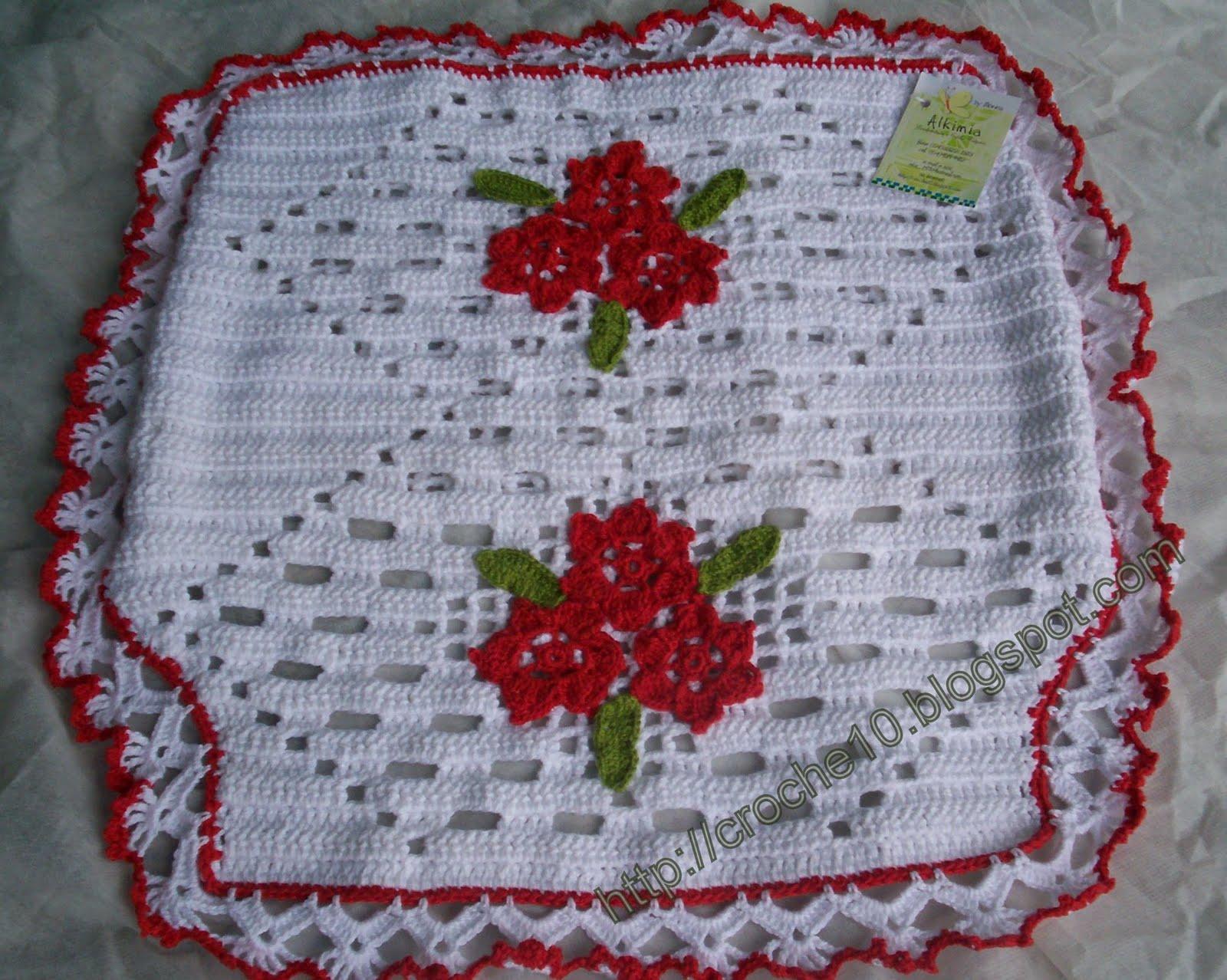 Imagens de #71161E CONJUNTO DE BANHEIRO VERMELHO E BRANCO: Crochet com Arte 1600x1278 px 2764 Box Banheiro Novo Hamburgo Rs