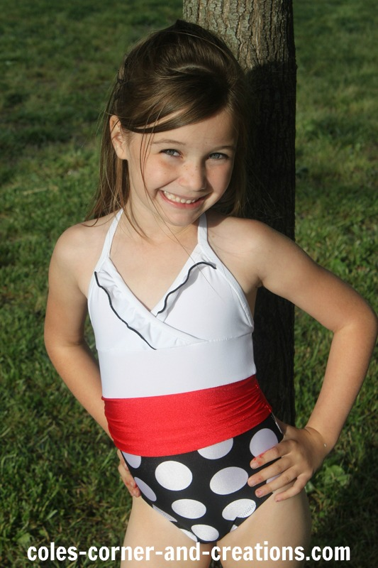 Cole's Corner and Creations: All 4 One Stylish Swimsuit (sizes 1-5)