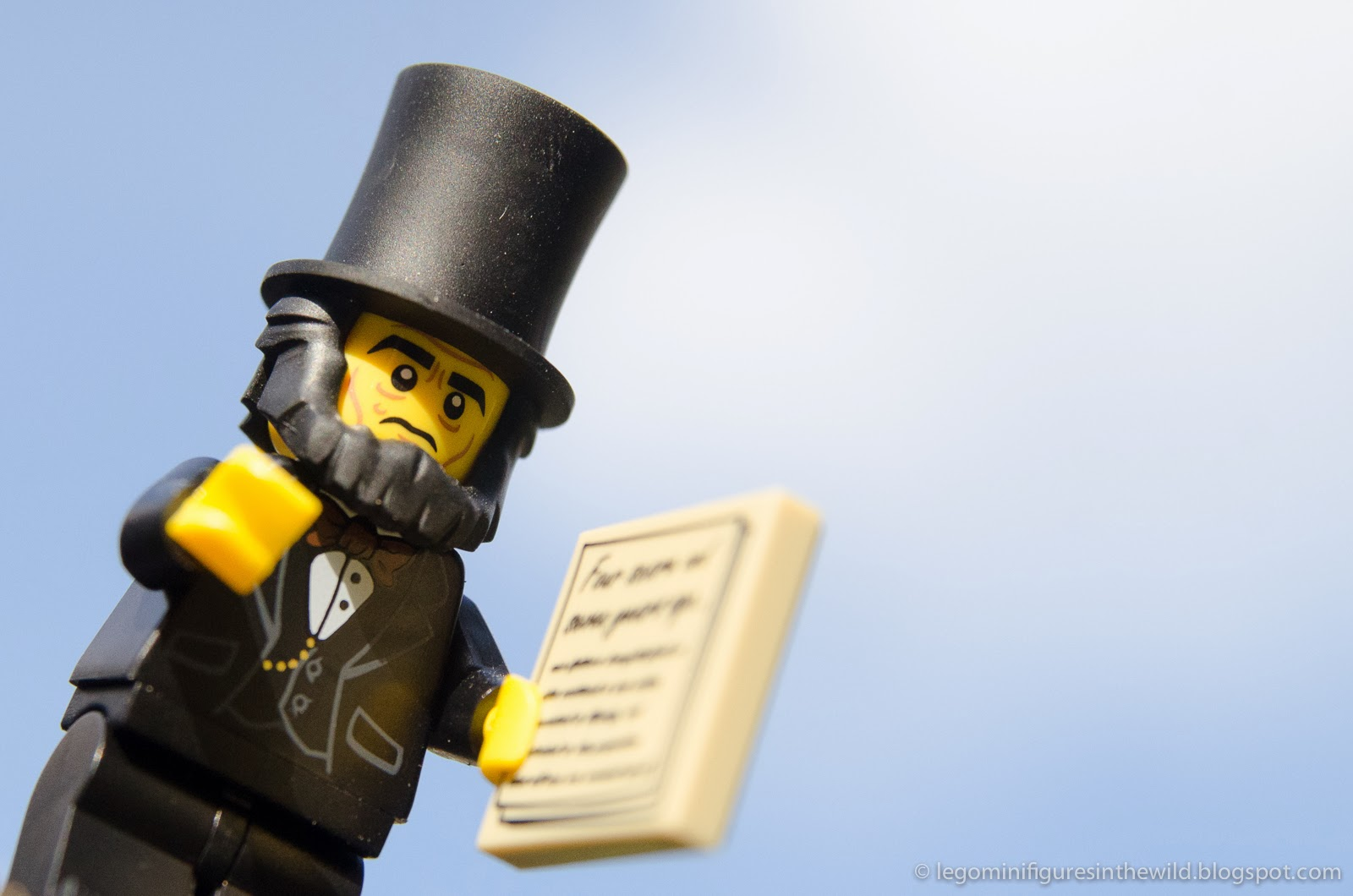 Lego Minifigures Series 12 Abraham Lincoln - Wallpaper