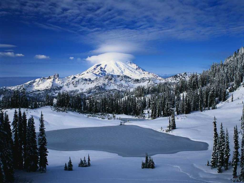 Wallpapers Collection «Snowy Mountains