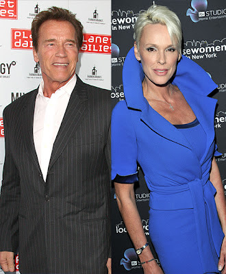 Schwarzenegger Brigitte Nielsen hot affair
