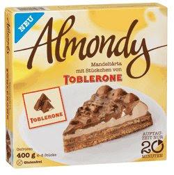 NEU: Almondy Toblerone Mandeltårta