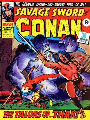 Marvel UK, Savage Sword of Conan #12, Rogues in the House