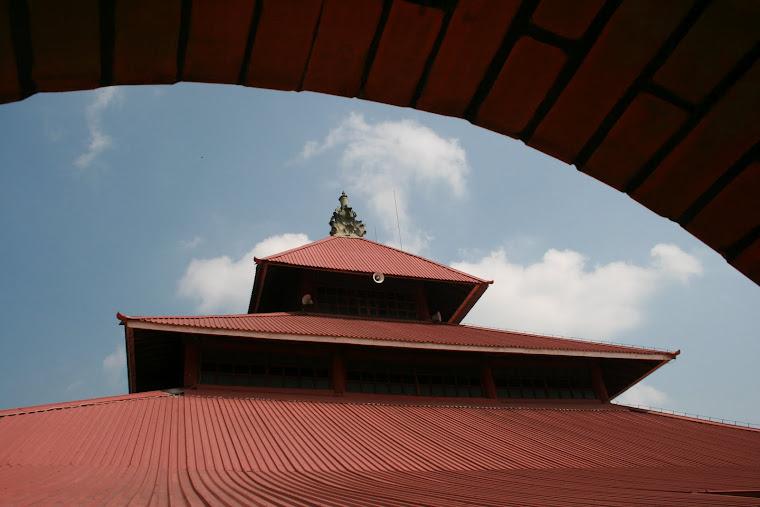 Atap Masjid Agung Jogjakarta, 2011
