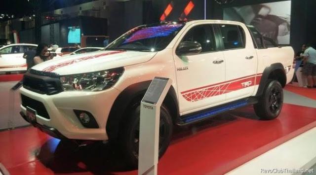 Toyota Siapkan Paket TRD untuk Hilux