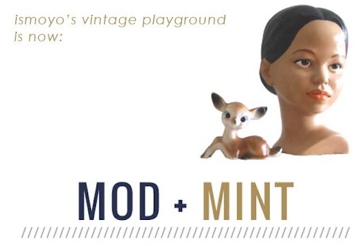 Mod and Mint - Rebranding Etsy Blog Shop